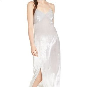 Trouve velvet slip dress size large